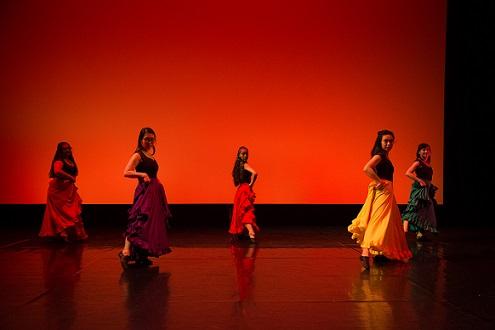 Spanish music dance performance