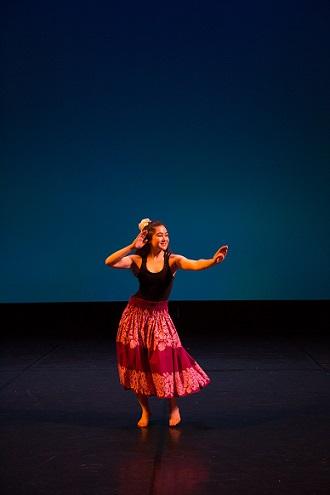 Hawaiian solo dance