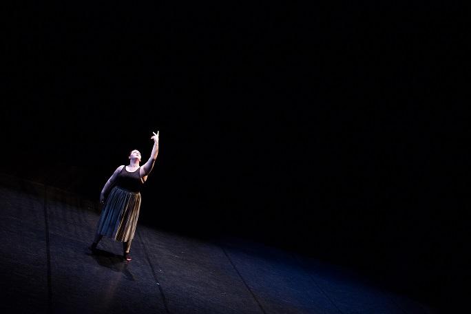 Contemporary Dance Solo Performance