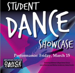 Student Dance Showcase flyer