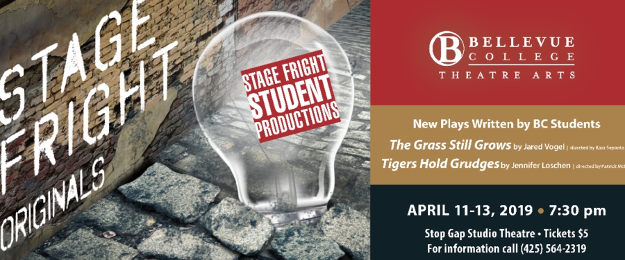 Stage Fright Student Productions flyer