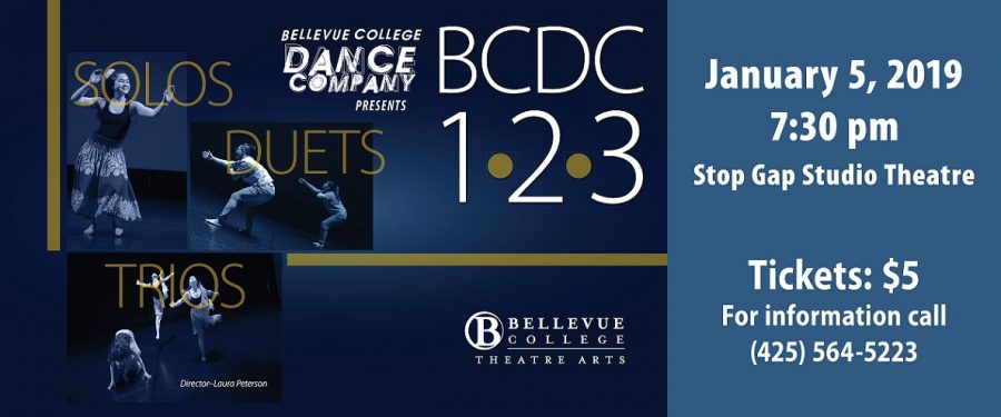BCDC 1 2 3 performance poster