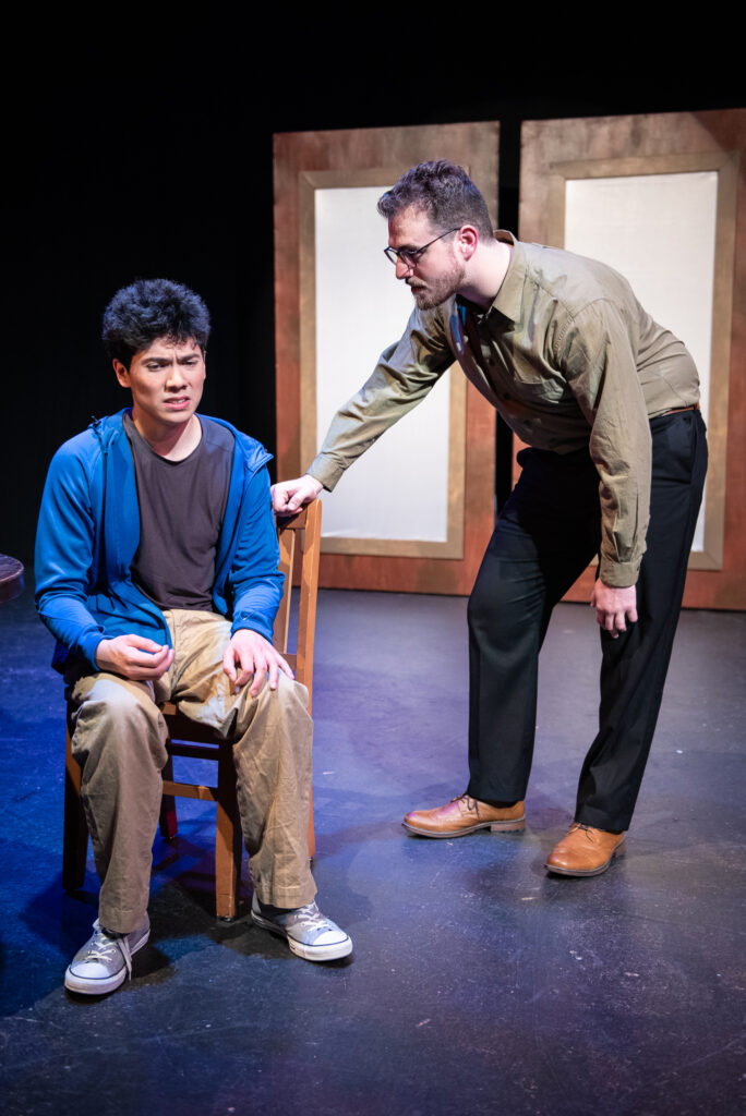 Stage Fright Scene - Archie and Percival