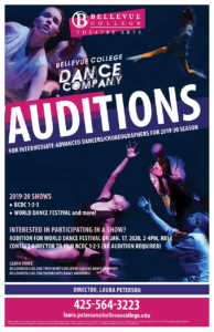 Audition Poster