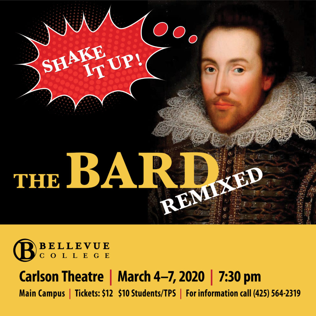 The Bard Remixed flyer