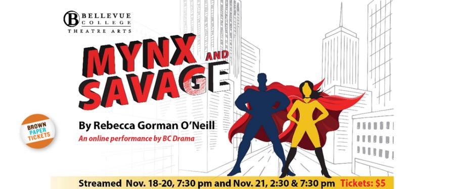Mynx and Savage flyer