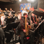 Jazz Band playing at Tula's