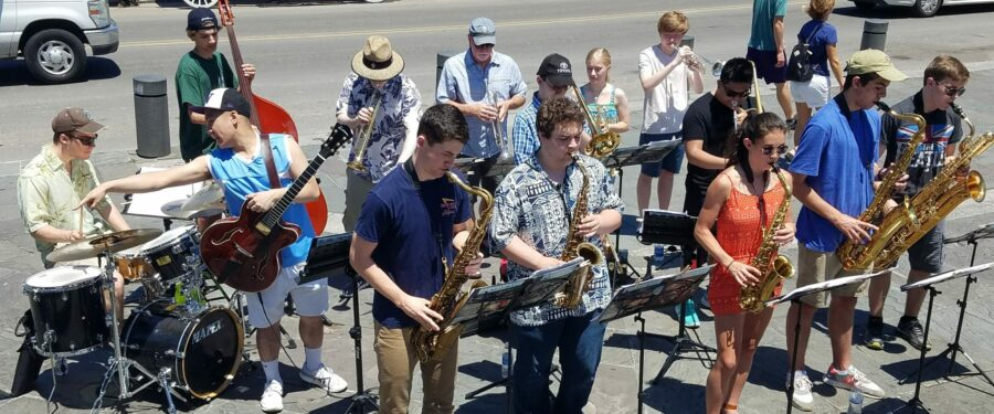 Bc Jazz Band in New Orleans