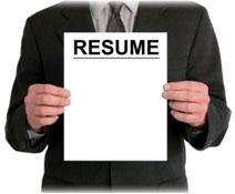 Page saying resume