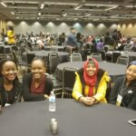 A group of BC students at the Students of Color Conference 2018