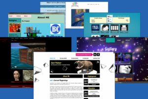 Image of student websites