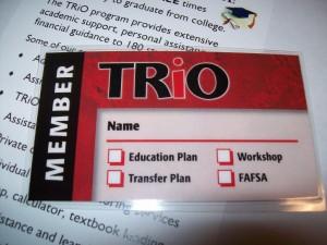 TRiO Member Badge
