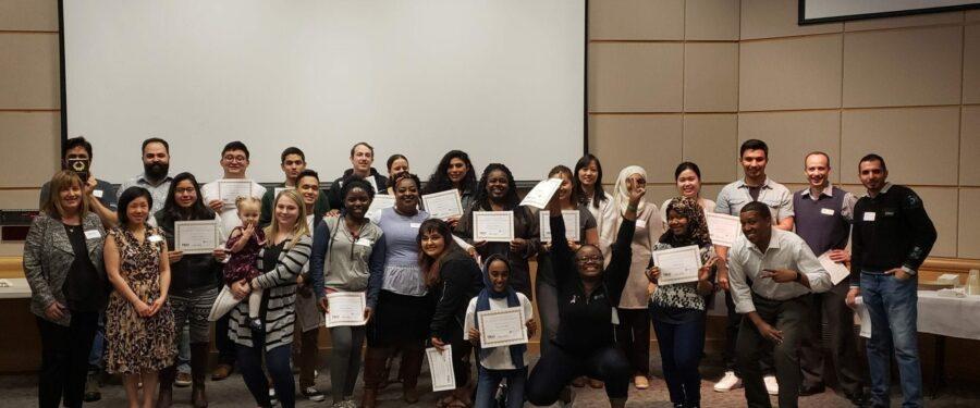 TRiO Award Reception group photo