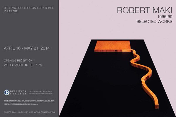 image of Robert Maki exhibit poster