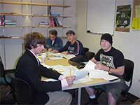 Tutoring in a group