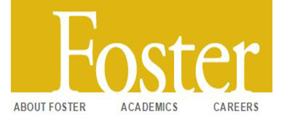 Foster school yellow logo