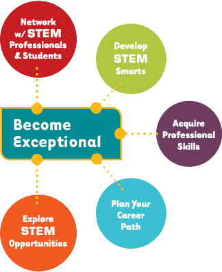 Become Exceptional STEM to Stern Chart