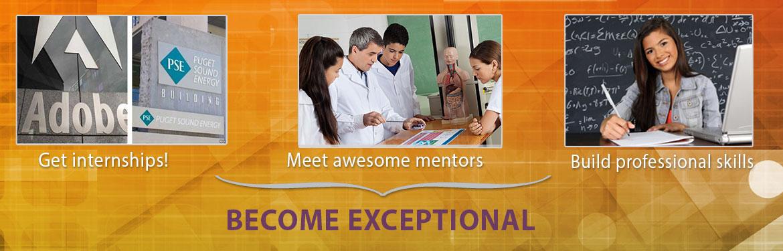 STEM to Stern Benefits - Find internships, meet mentors, build professional skills