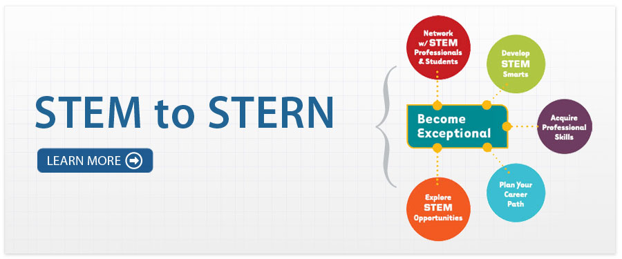 The STEM to Stern program is a yearlong 2-credit class to accelerate the growth of students in the science, technology, engineering, and math (STEM) fields. You will learn skills and make connections that will help you succeed as a STEM student and STEM professional.