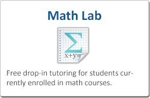 Math Lab - Free drop-in tutoring for students currently enrolled in math courses at Bellevue.
