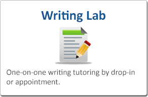 Writing Lab - One-on-one writing tutoring by drop-in or appointment
