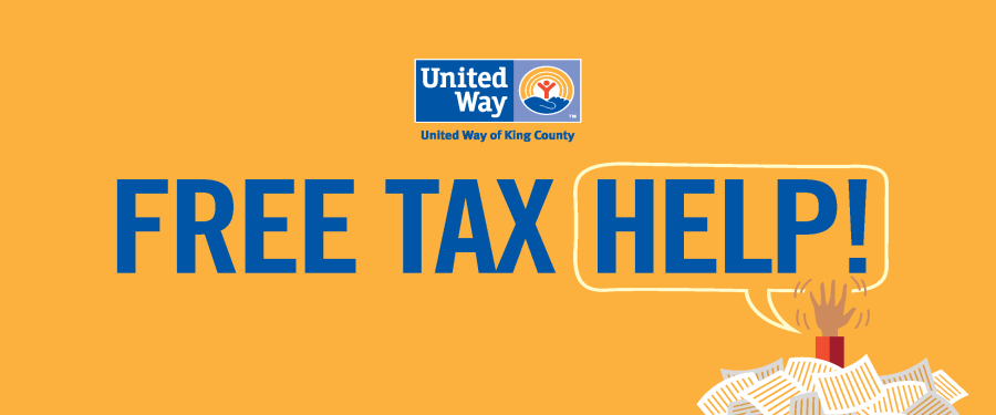 Free tax help banner
